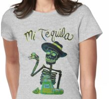 Day of the Dead Mi Tequila Womens Fitted T-Shirt