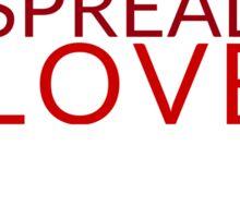 Spread Love Sticker