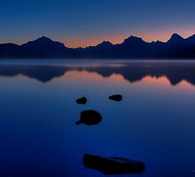 Sunrise Blue by JamesA1