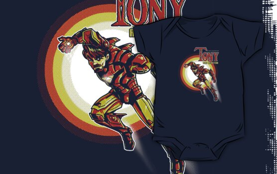 The Legend of Tony by Punksthetic