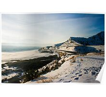 Wyoming Mountains Poster