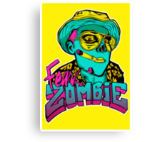 Fear the Zombie Canvas Print