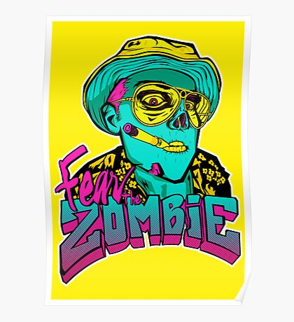 Fear the Zombie Poster