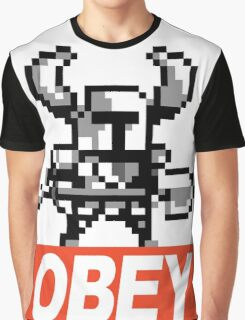 Shovel Knight (OBEY) Graphic T-Shirt