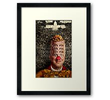I counted with my own eyes Framed Print