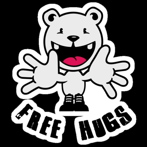 Polar Bear: Free hugs VRS2 by vivendulies