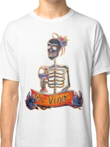 Day of the Dead Mi Vino Classic T-Shirt