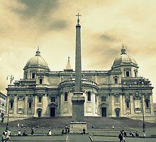 Basilica di Santa Maria Maggiore, Rome, Italy by Jitesh Chauhan