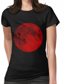 Red Moon-Twilight Womens Fitted T-Shirt