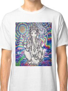 Trippy Ganesh Classic T-Shirt