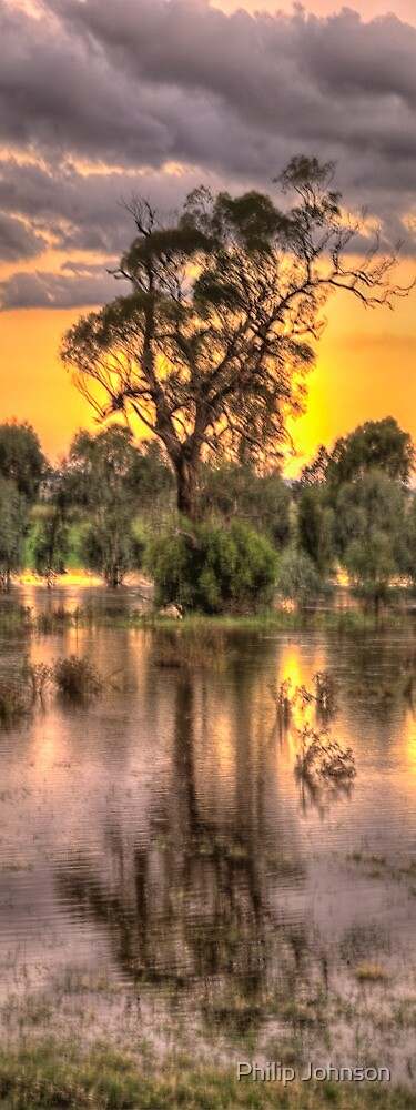 Reflections - Junee, NSW - The HDR Experience by Philip Johnson
