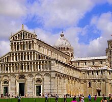 Leaning Tower of Pisa by Jitesh Chauhan