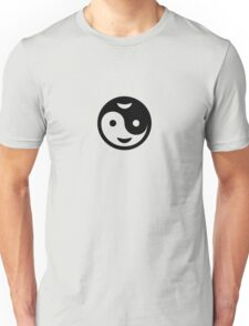 Yin Yang Smiley VRS2 T-Shirt