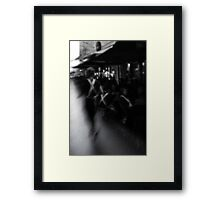Cafe Life Framed Print