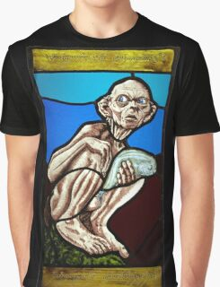 Gollum (Stained Glass) Graphic T-Shirt