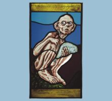 Gollum (Stained Glass) Kids Tee