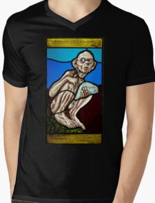 Gollum (Stained Glass) Mens V-Neck T-Shirt