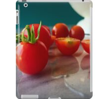 Fallen Cherry Tomatoes iPad Case/Skin