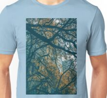 behind view Unisex T-Shirt