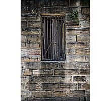 What's Behind the Door Behind the Window? Photographic Print