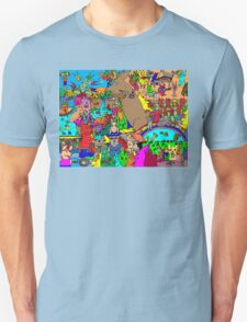 Rabbits on Vacation T-Shirt