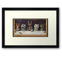Guy's Night out Framed Print