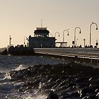 St Kilda Pier Melbourne Australia by David Toolan