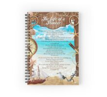 The Life of a Pioneer Lyrics  Spiral Notebook
