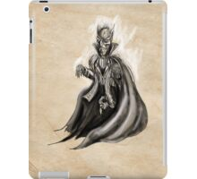 The Vampire of Soggy Bog iPad Case/Skin