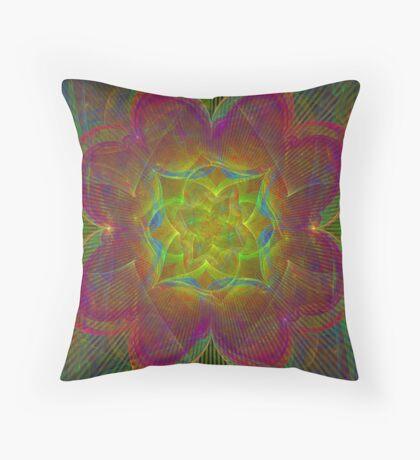 Foci Flower Throw Pillow