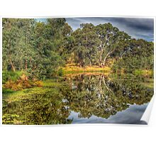 And His Ghost May Be Heard - Wonga Wetlands , Albury Poster