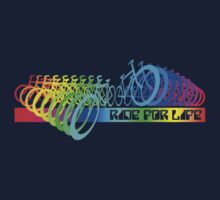 Rainbow Ride - Ride for Life by Benjamin Whealing