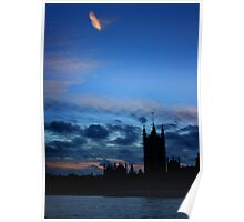 Houses of Parliament, London Poster