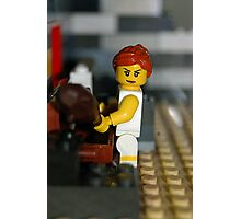 Lego Lady Photographic Print