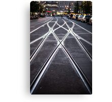Further Down The Line Canvas Print