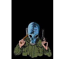 Dead Man's Shoes Comic Style Illustration Photographic Print