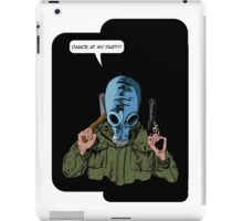 """Dead Man's Shoes """"Dance at my party"""" Comic Style Illustration  iPad Case/Skin"""