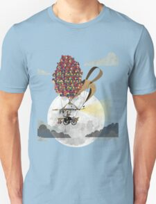 Flying Bicycle Unisex T-Shirt