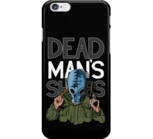 Dead Man's Shoes Comic Style Illustration iPhone Case/Skin
