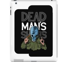 Dead Man's Shoes Comic Style Illustration iPad Case/Skin