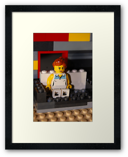 Lego Woman by SophieGorner7