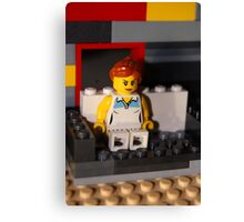 Lego Woman Canvas Print