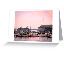 Provincetown Harbor, Cape Cod, Massachusetts Greeting Card