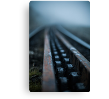 The Mountain Railway Canvas Print