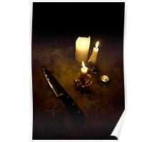 Candle Lit Poster