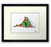 Pour Vous Framed Print