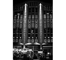 Night Time Lights Photographic Print