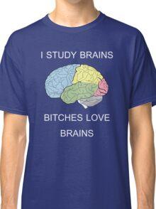 I Study Brains Classic T-Shirt