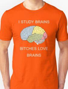 I Study Brains Unisex T-Shirt