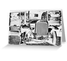 Federal Truck Greeting Card